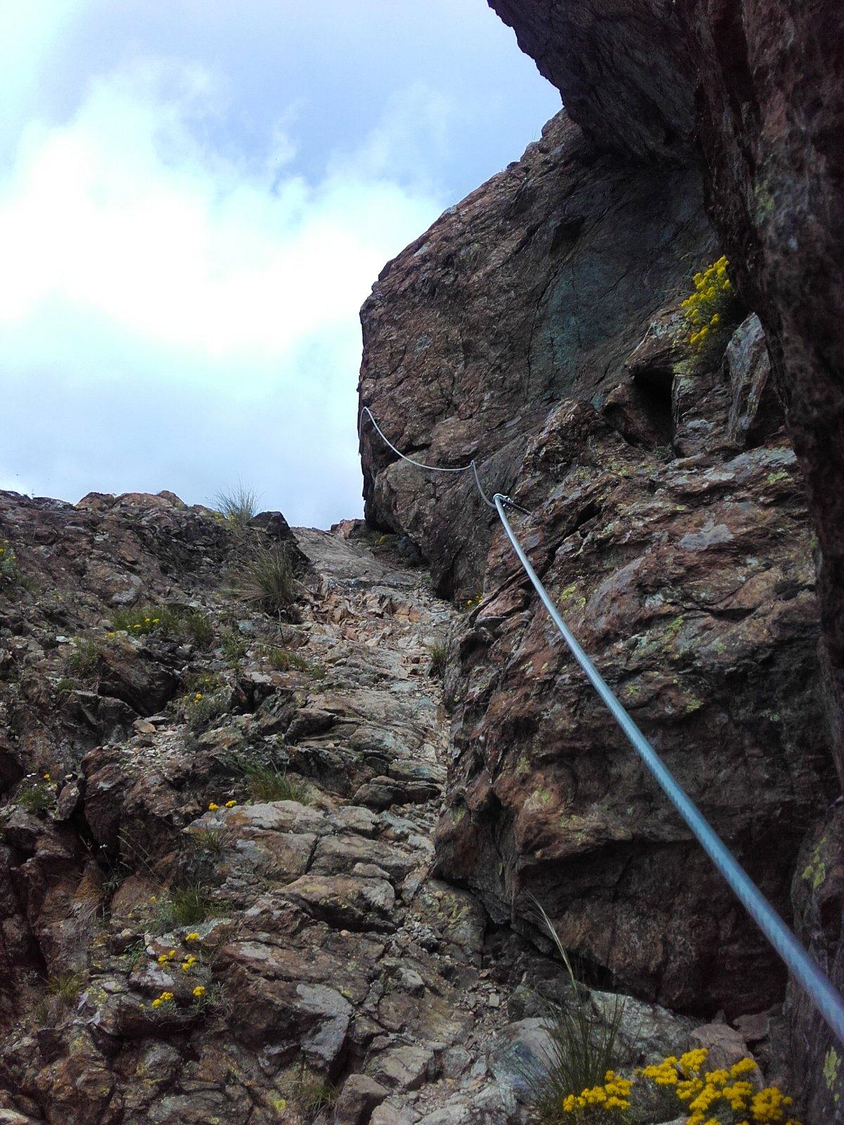 si arrampica bene in stile alpinistico