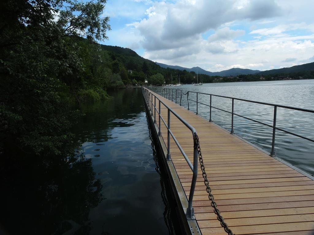 Passerella sul Lago Grande
