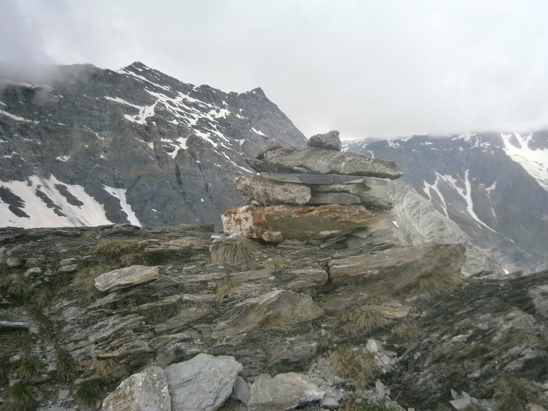 M. Ferra e Punta di Fiutrusa dalla cima del Bondormir