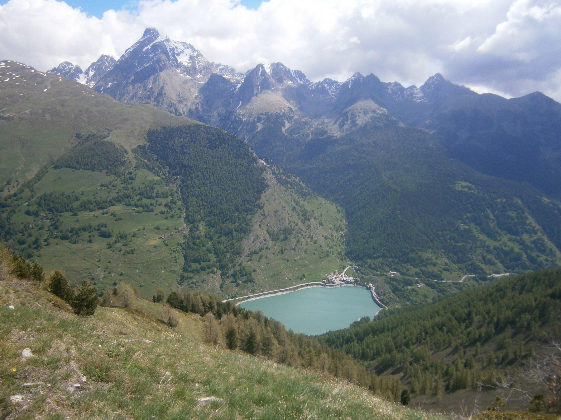 Lago, Pontechianale e Monviso