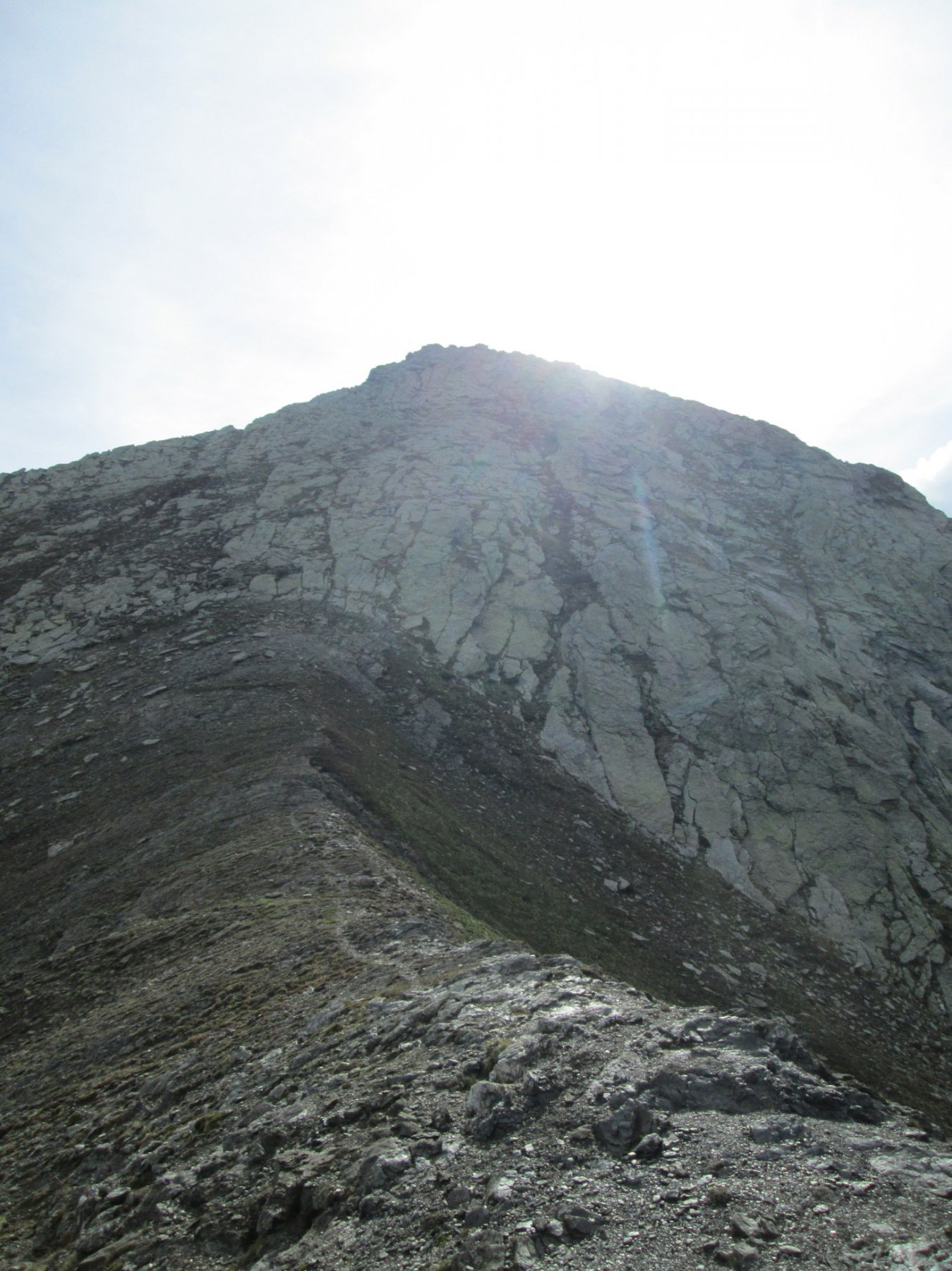 Monte Peigrò visto dal colle Giulian