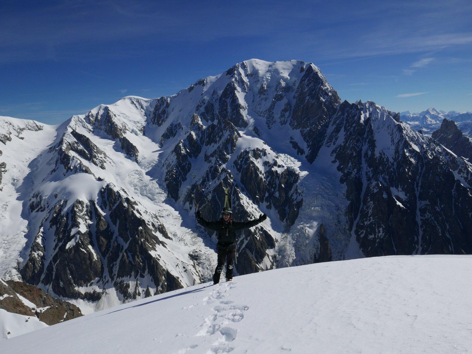 io e il monte bianco
