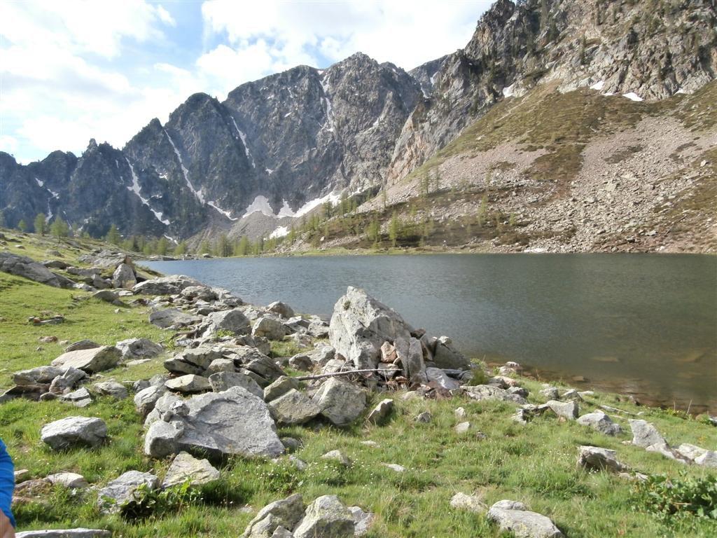 al lago inferiore dell'Aver