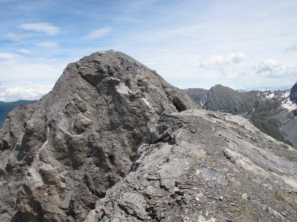 La cima NE del Cassorso quotata 2782.