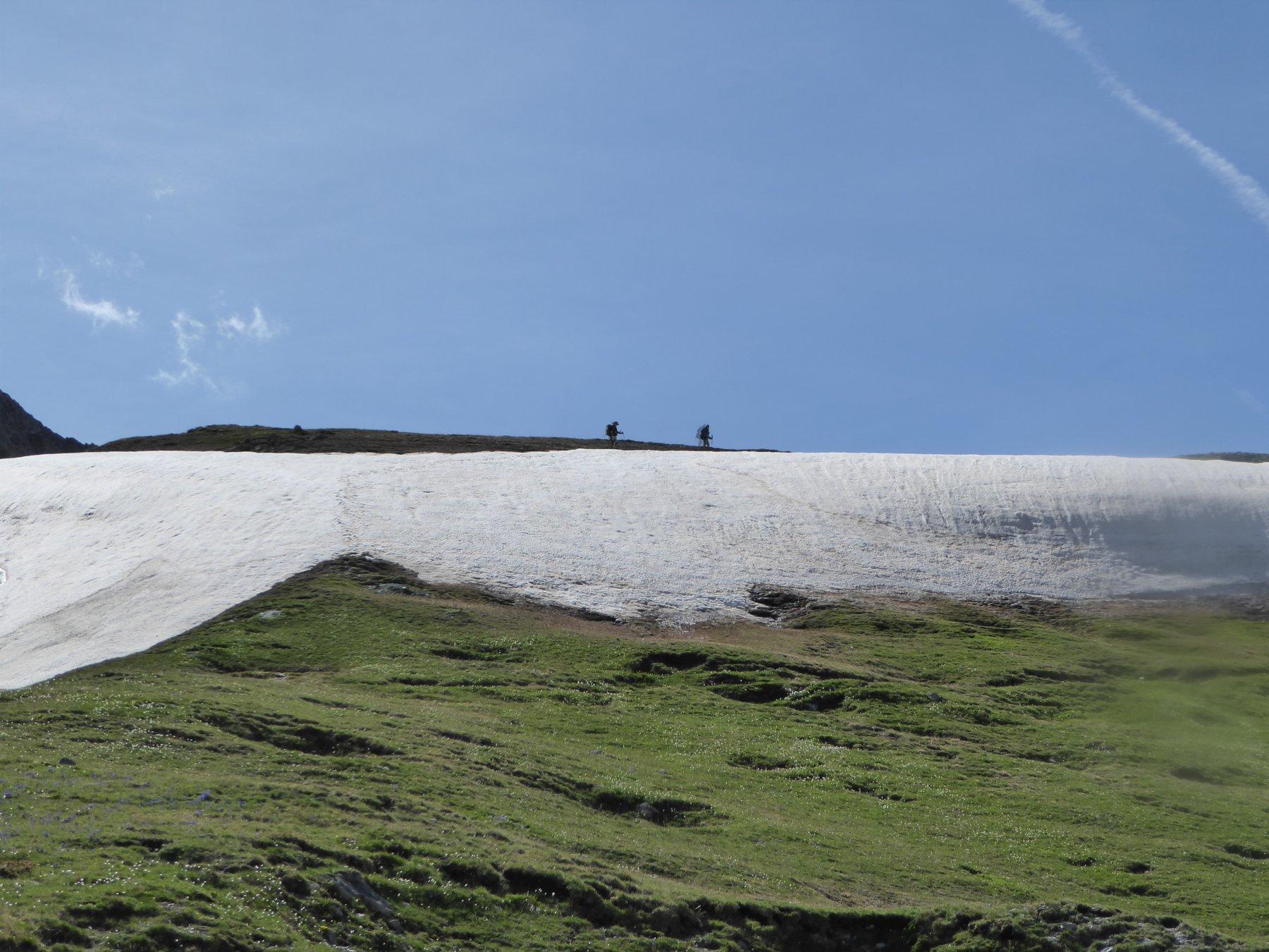 Ultimi nevai al Passo della Gardetta
