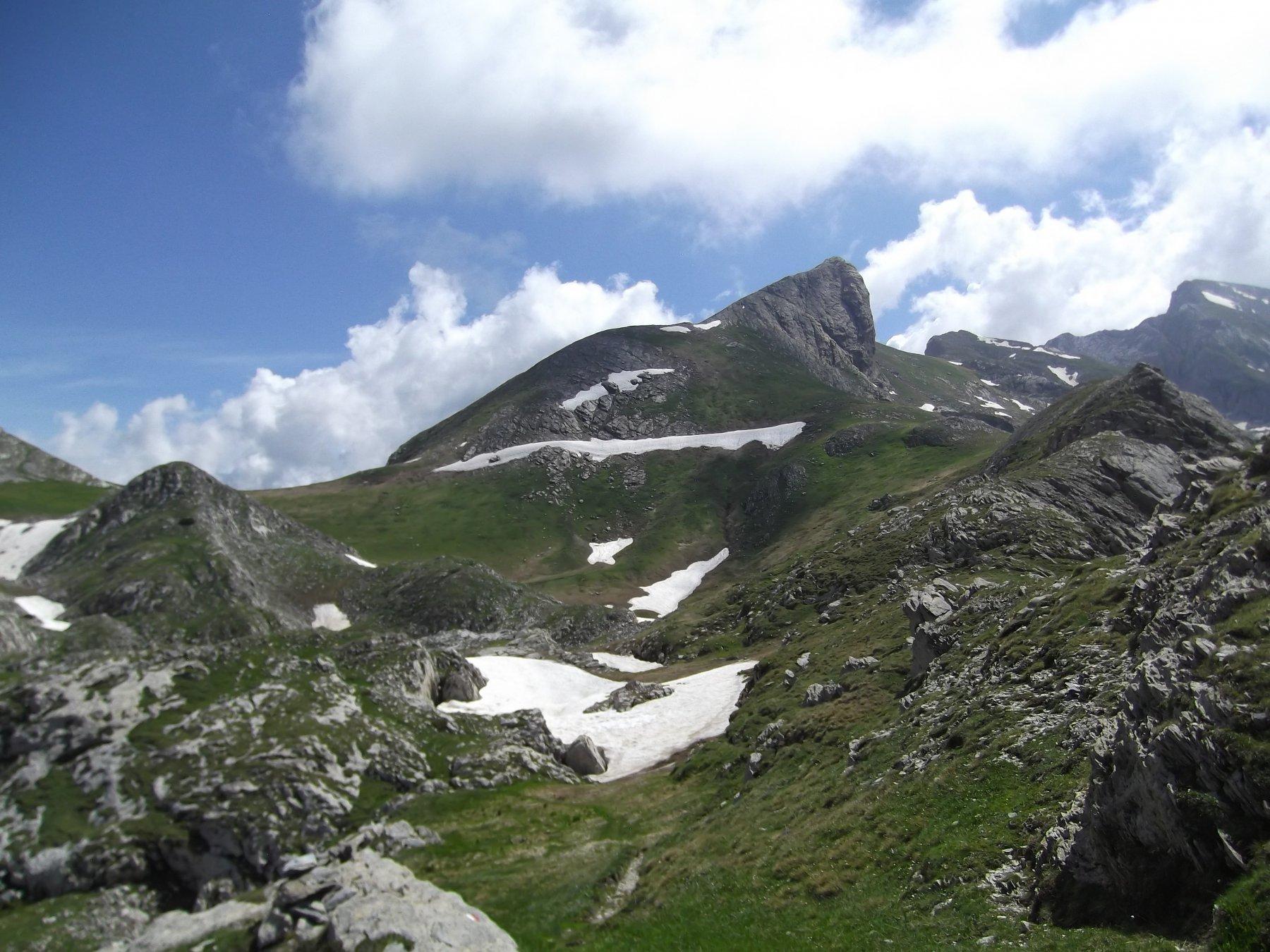 Castello delle Aquile da Passo Scarasson.