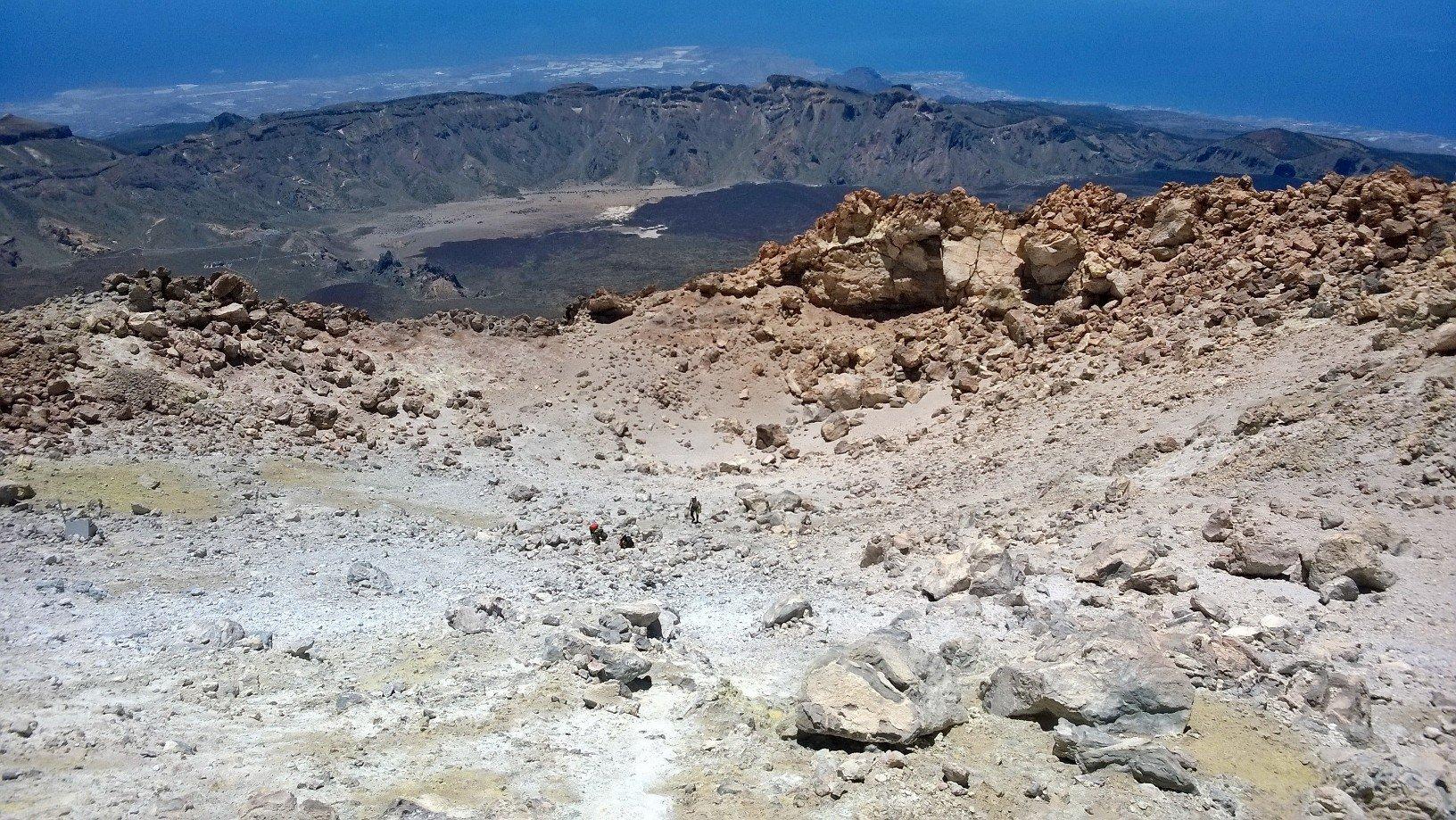 Il cratere del Teide