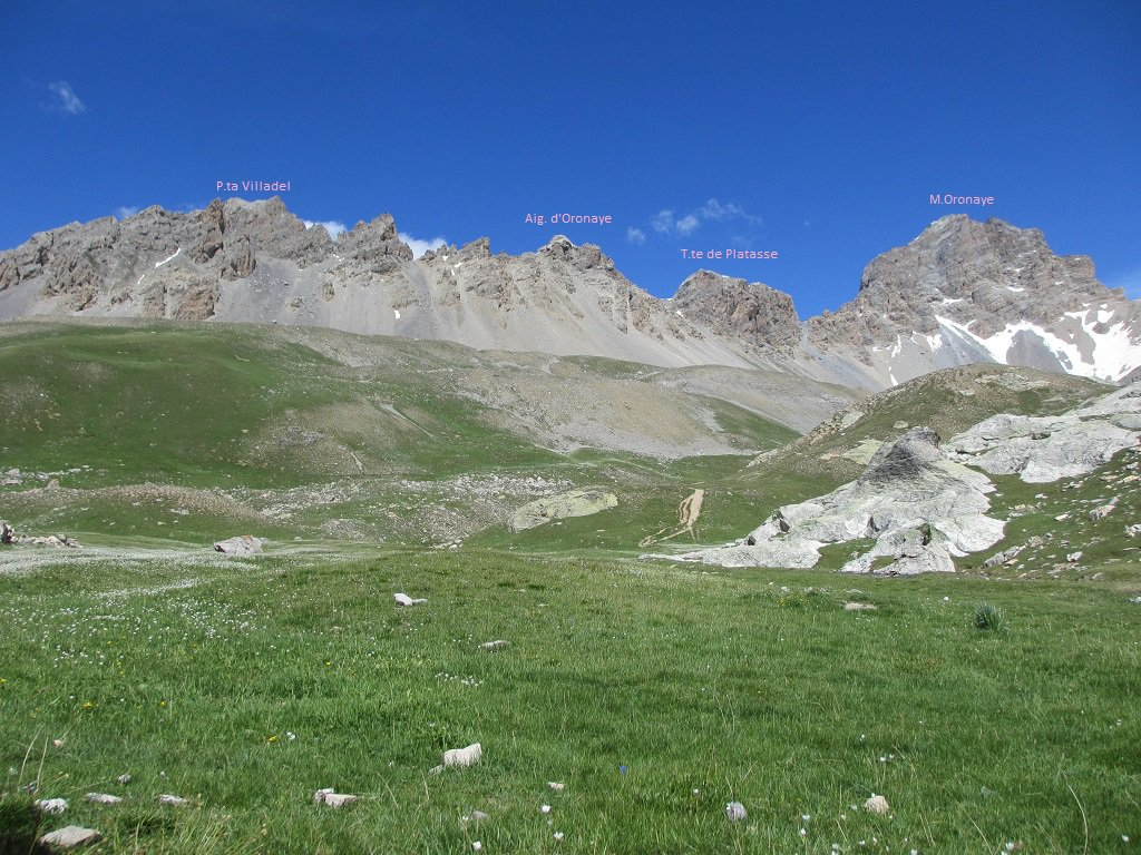 Panoramica sulle cime