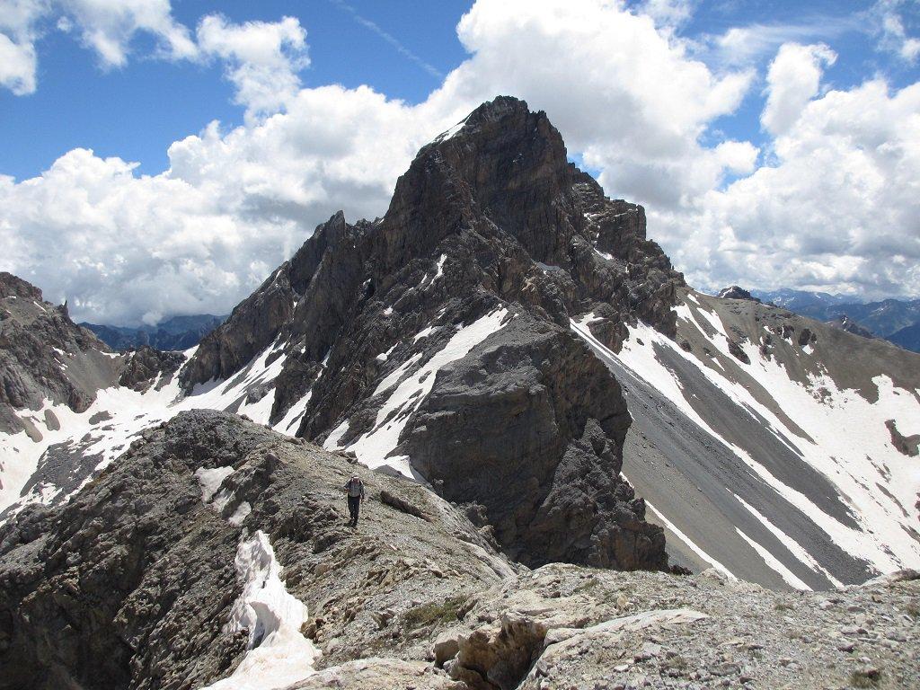 Una panoramica dalla cima Aig.Oronaye