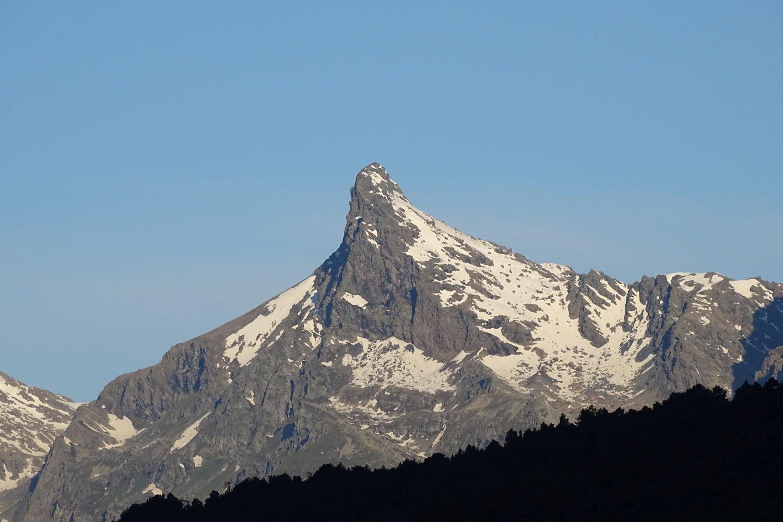 Mont Avic alla partenza