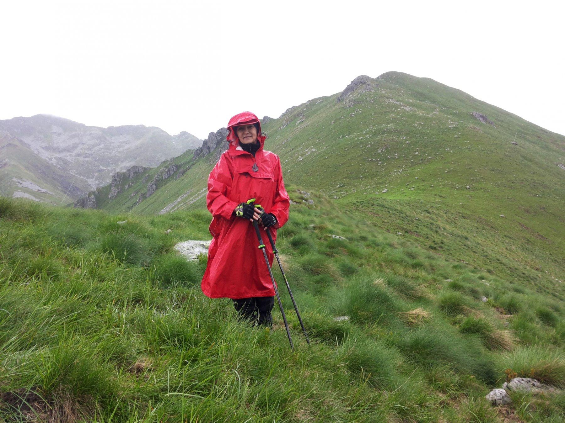 anche Germana non teme la pioggia ;)