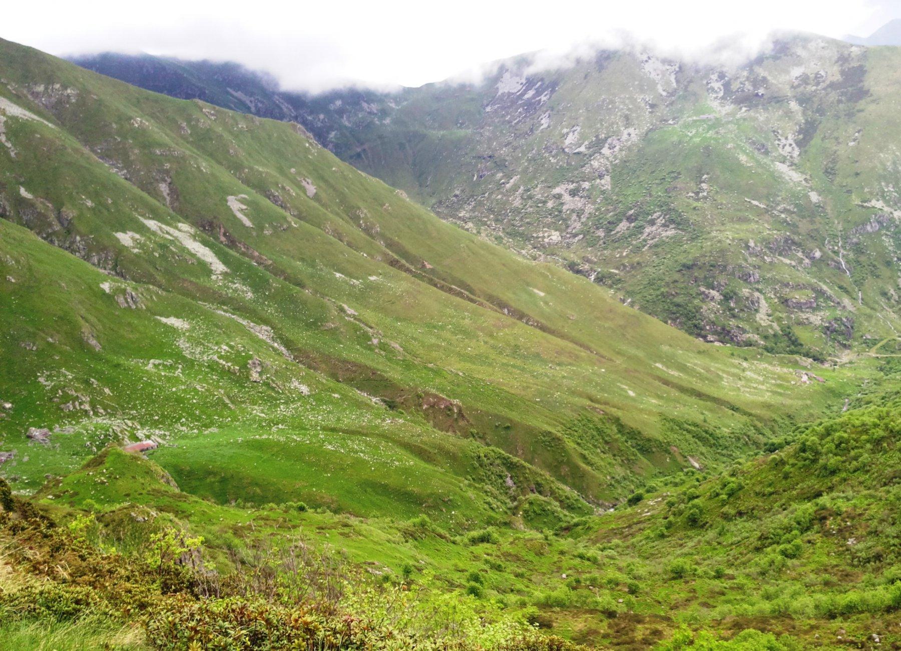 vallone del rio del Camino e Alpeggi Isolà