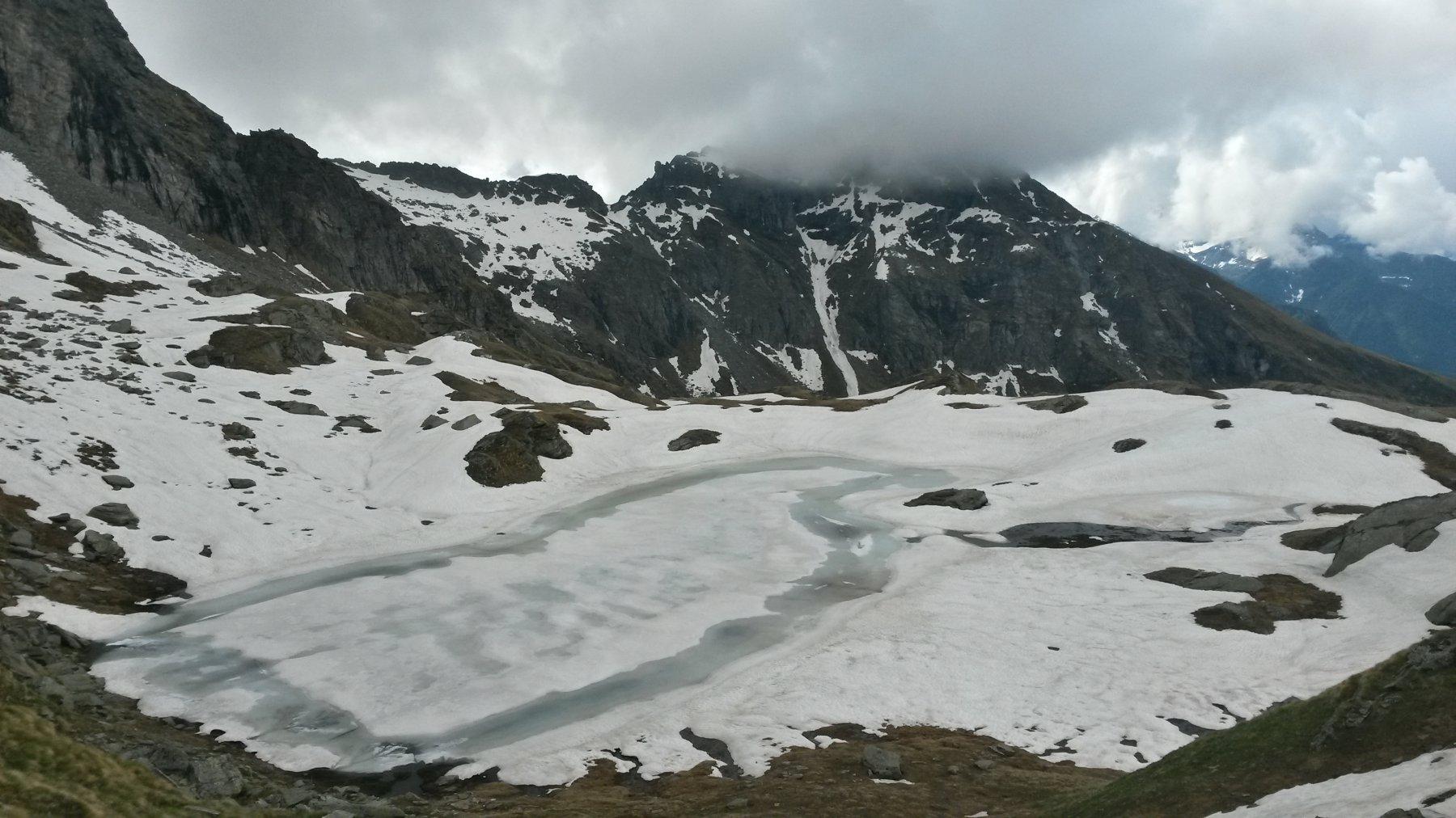 primo lago dall'alto