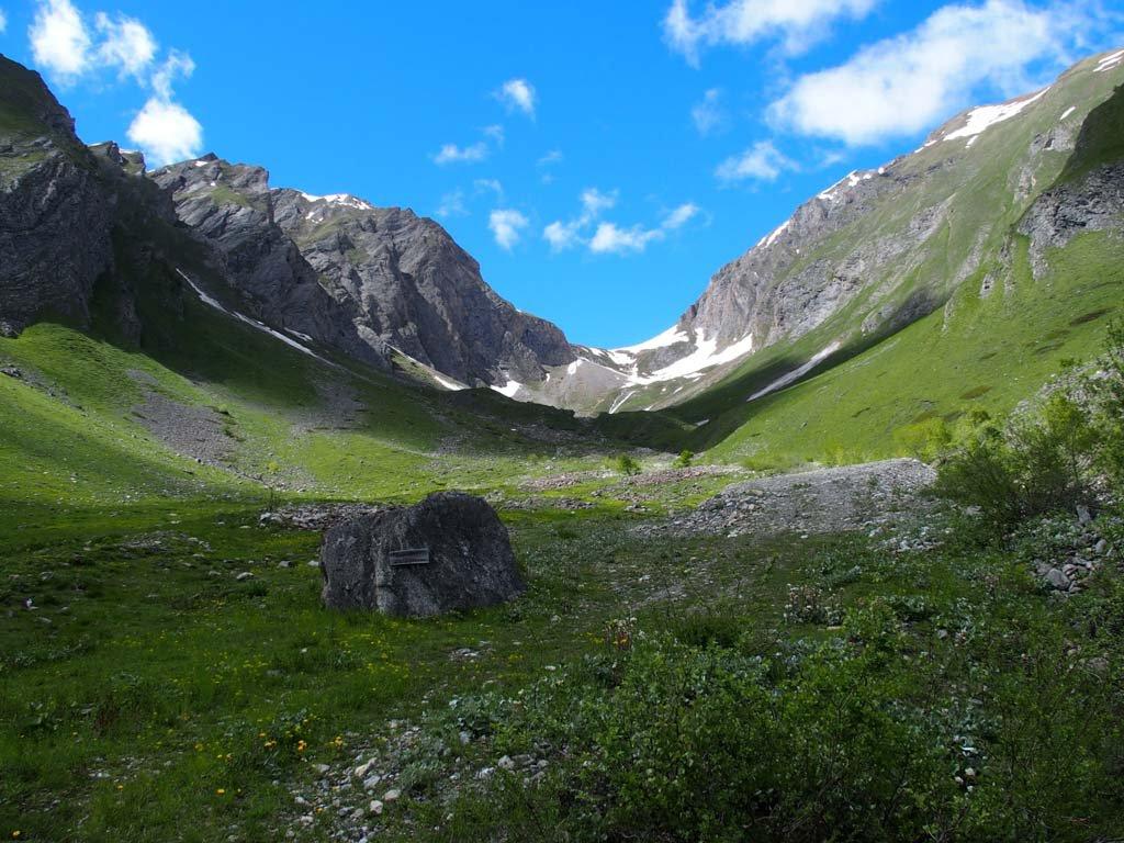 vista dall'alpe liconi