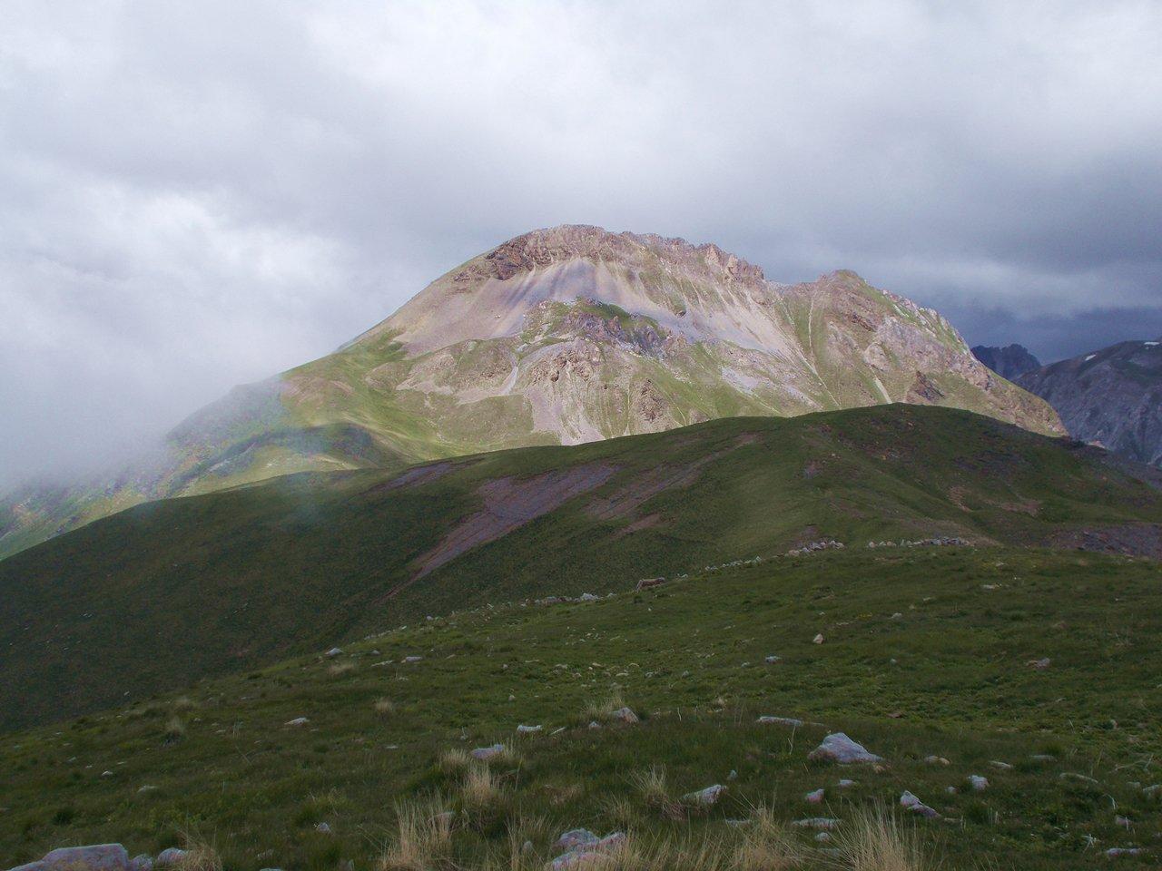 Il Monte Savi dal Monte di Vinadio