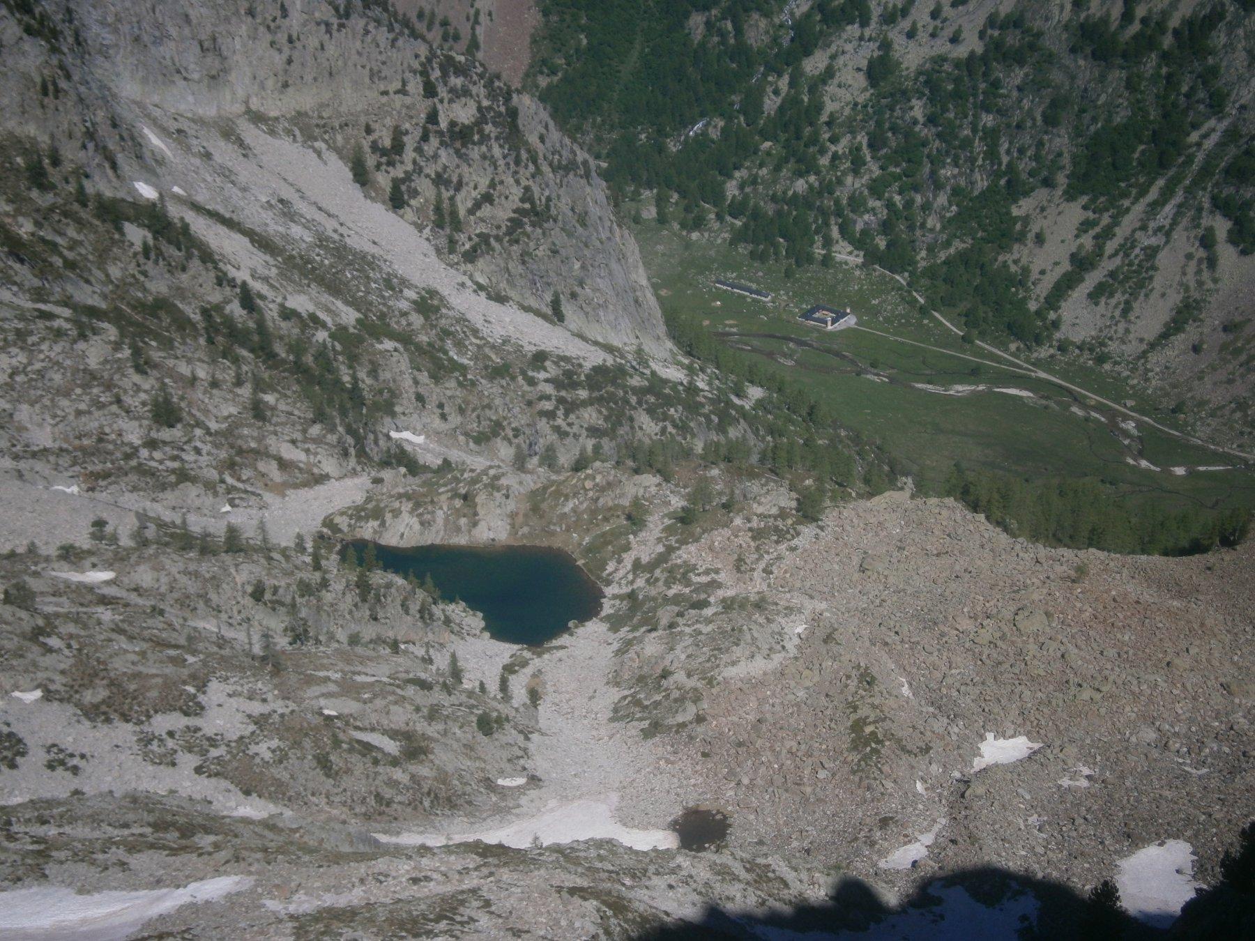 Lago di Valcuca e pian del Valasco