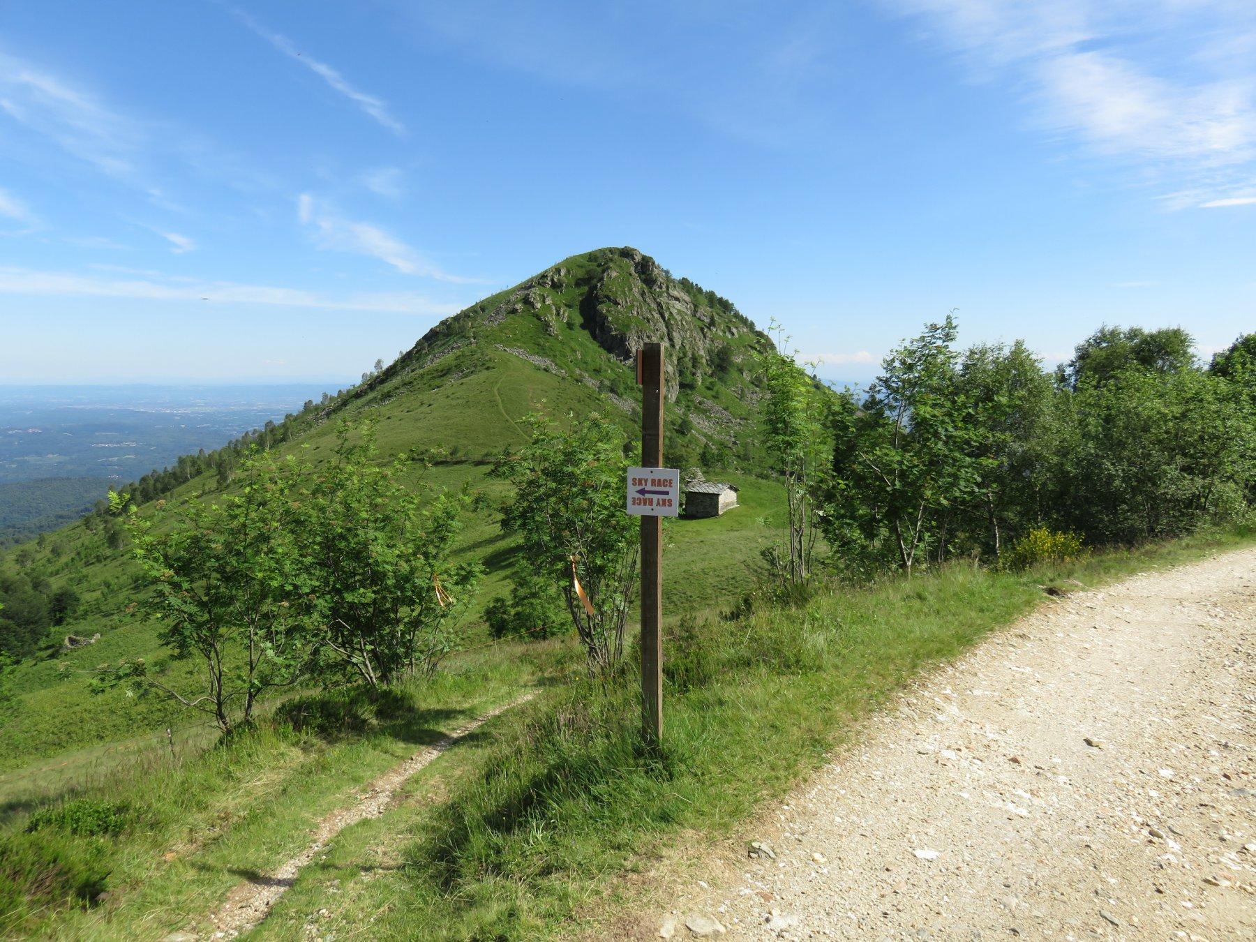 Verso il Monte Calvo