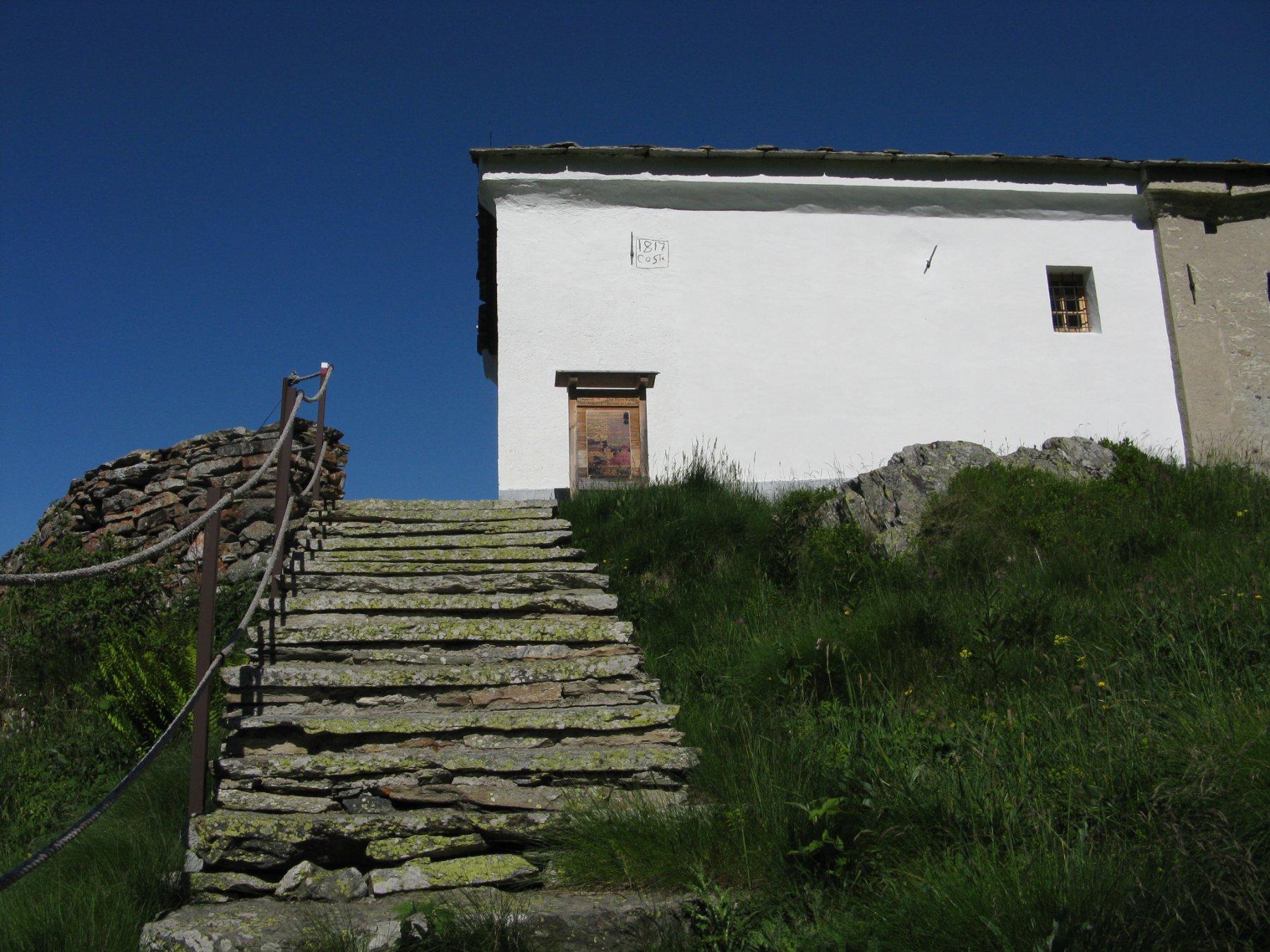 arrivo al Santuario del Ciavanis