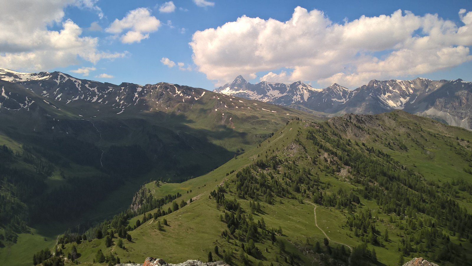 Verso il Pic de Rochebrune