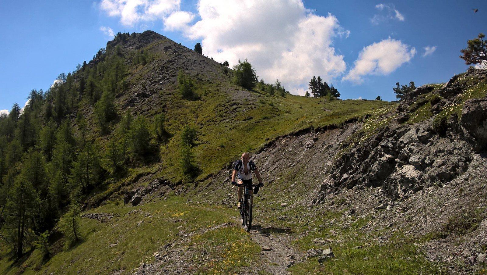 Fine sentiero per Corbioun