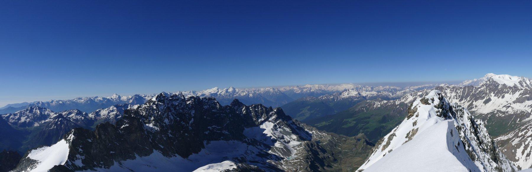 Panoramica dal Mont Gelè