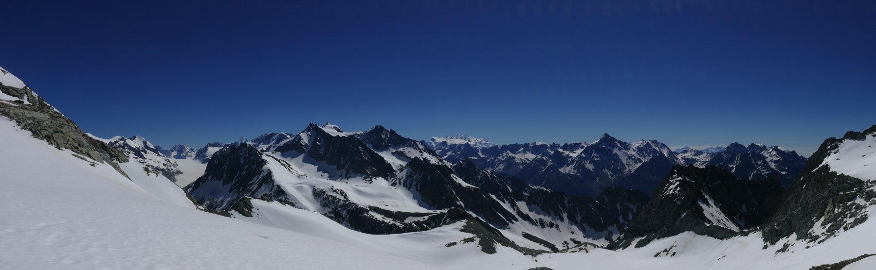 Panoramica dal Colle del Mont Gelè