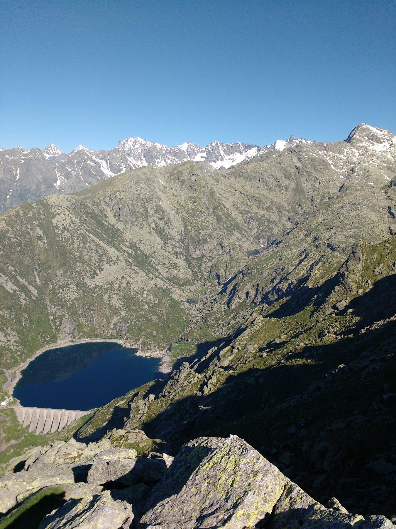 Lago d'Eugio dalla cima
