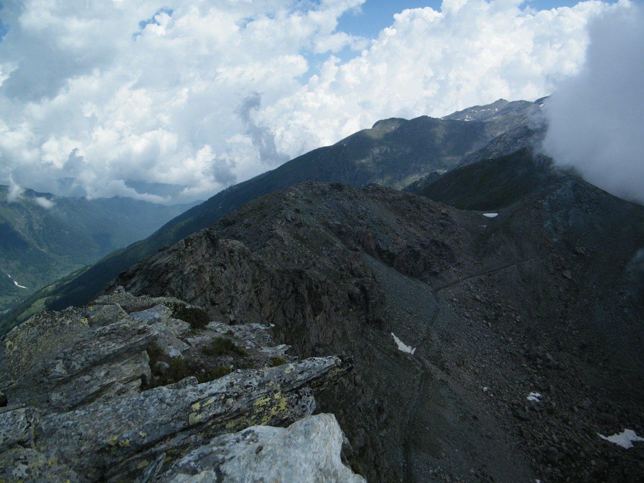 Panorama dalla vetta di P.ta Chiarlea