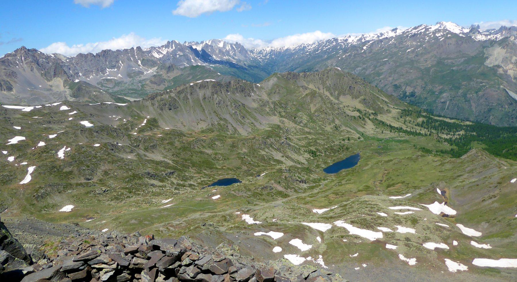 vista sui laghi