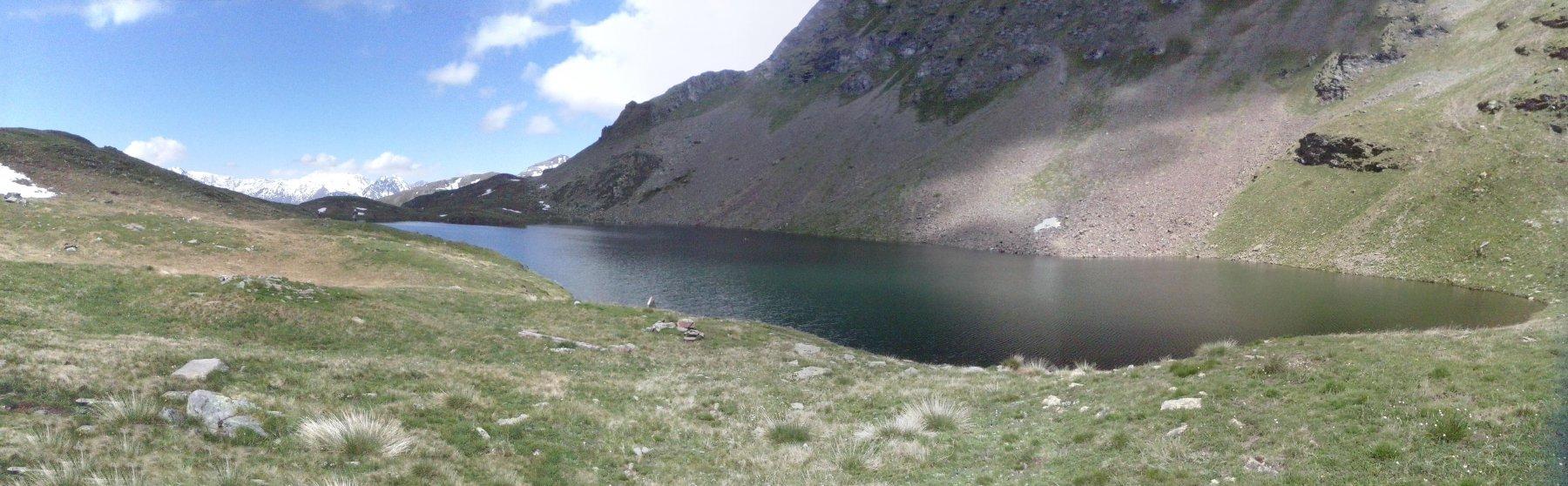 il lago Fallere oggi...