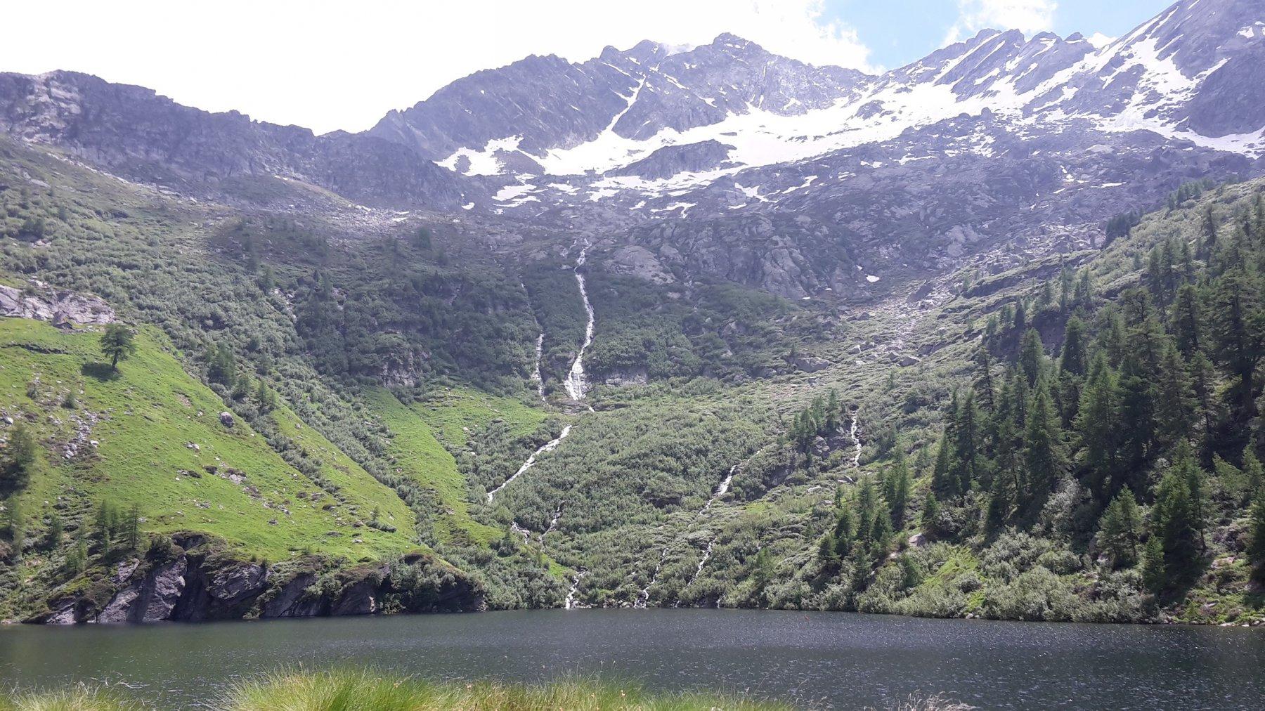 Il Nery dal lago inferiore di Frudiere