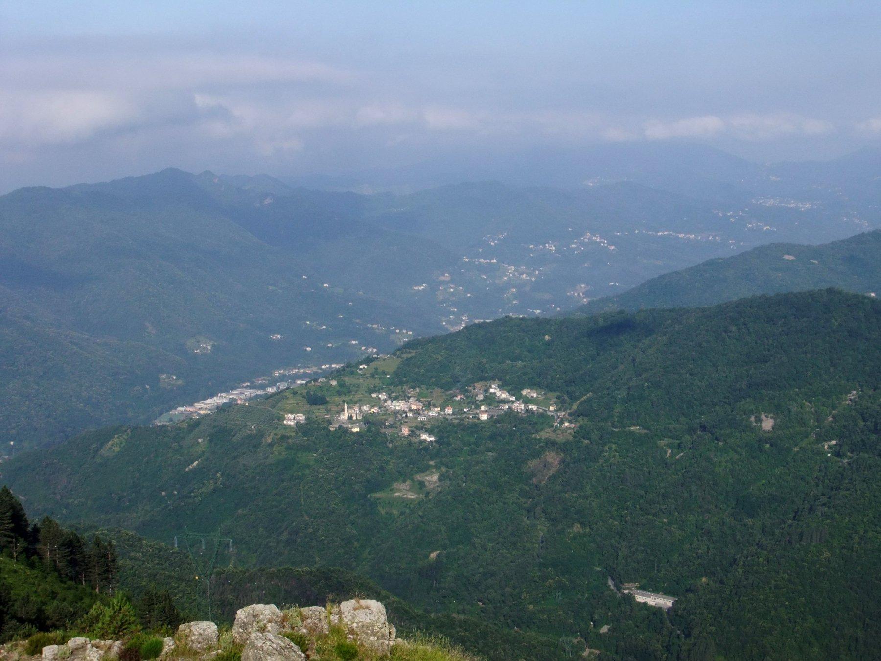 La Val Fontanabuona dal Mignano