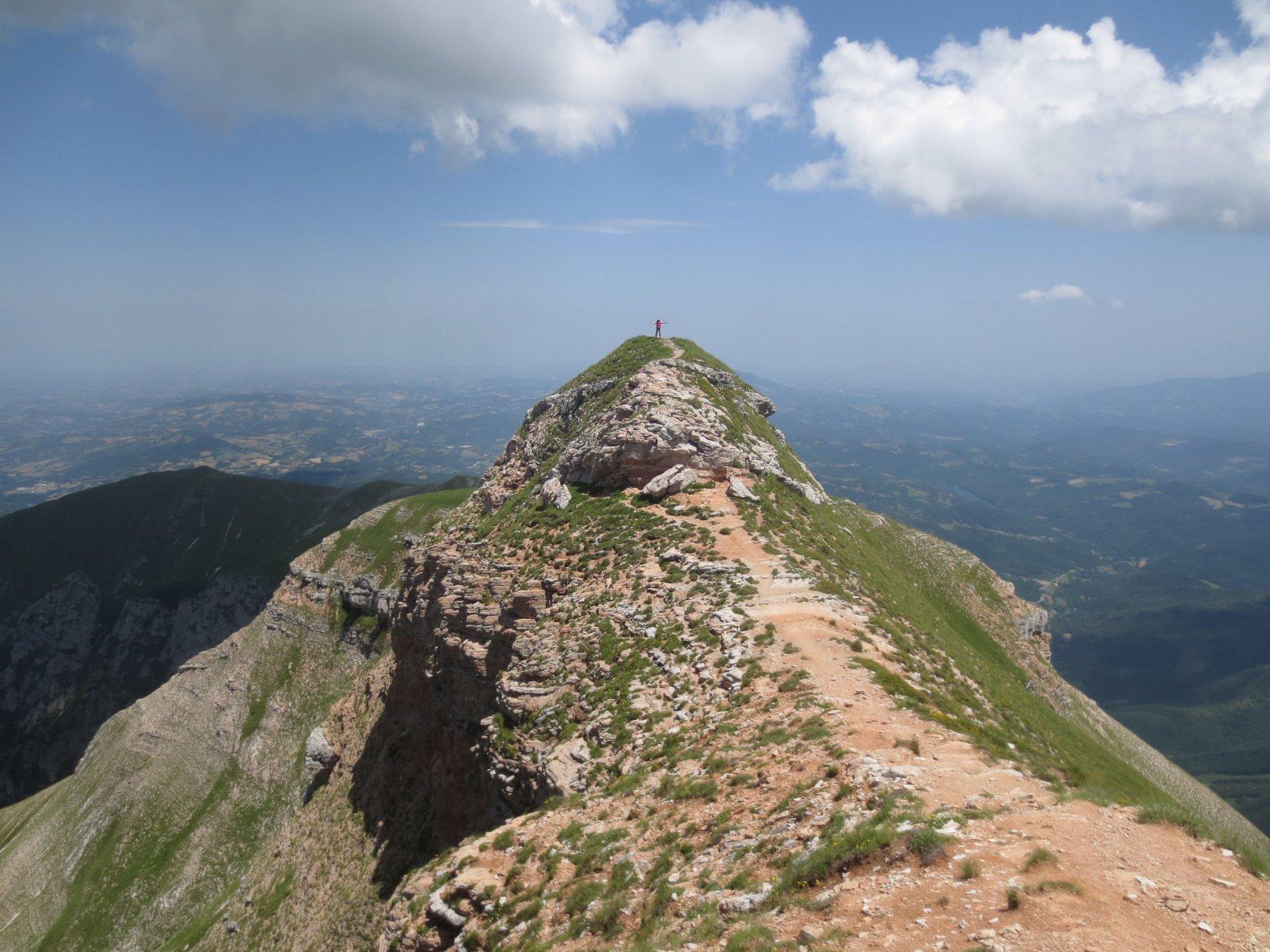 La cima del Monte Sibilla