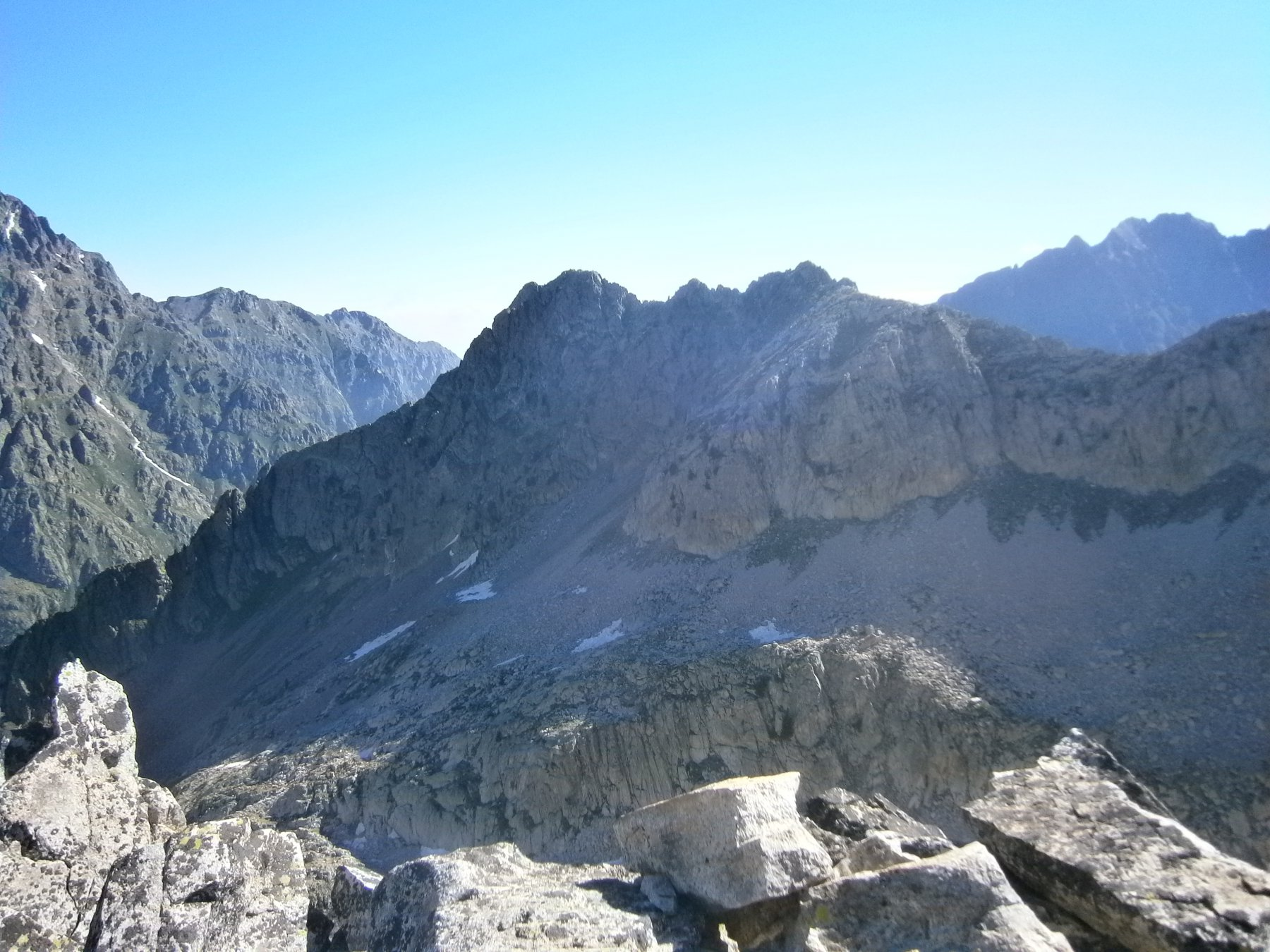 Rocca san Giovanni dalla cima