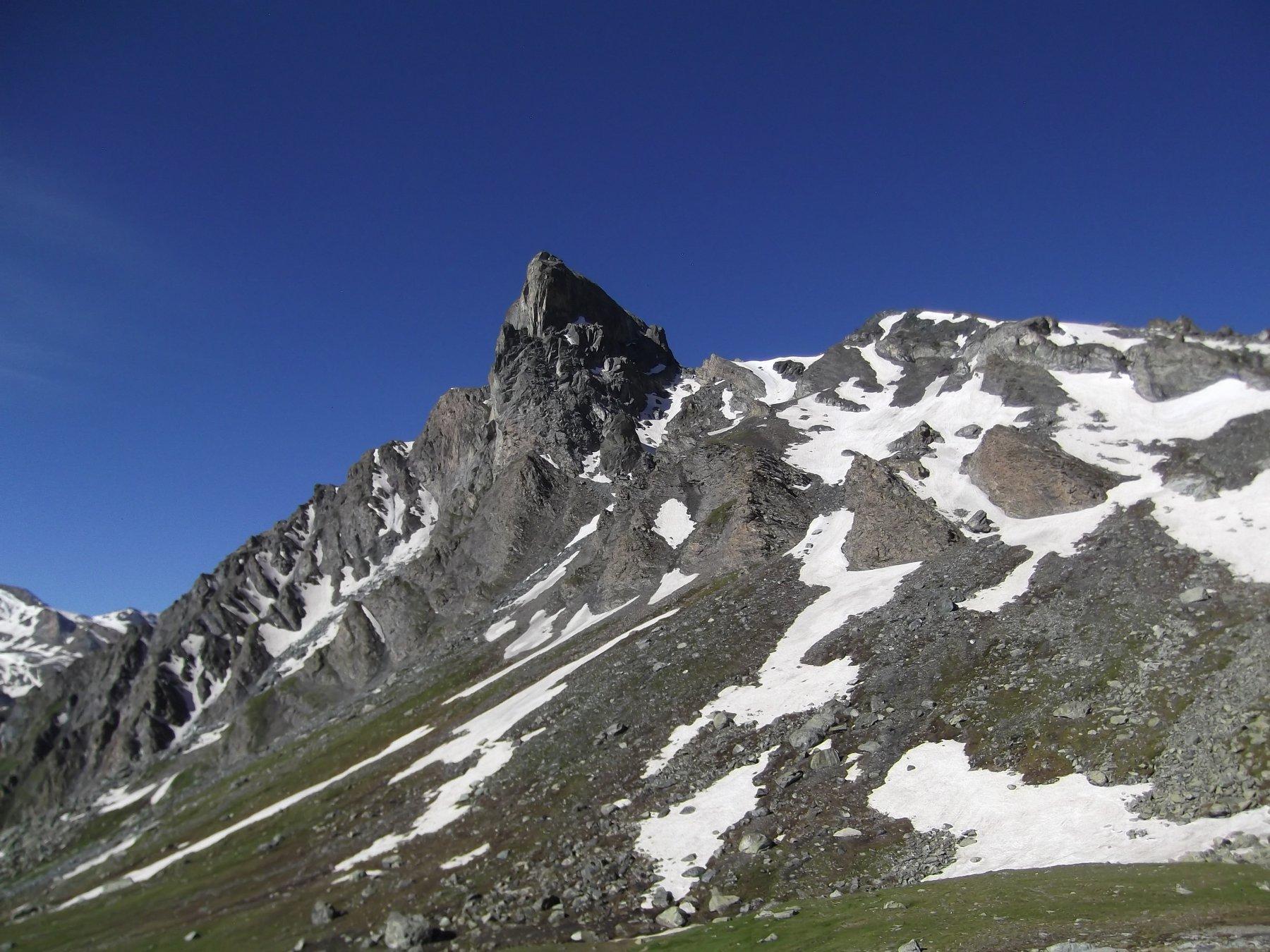 Rocca Bianca dai pressi del Colle S. Veran.