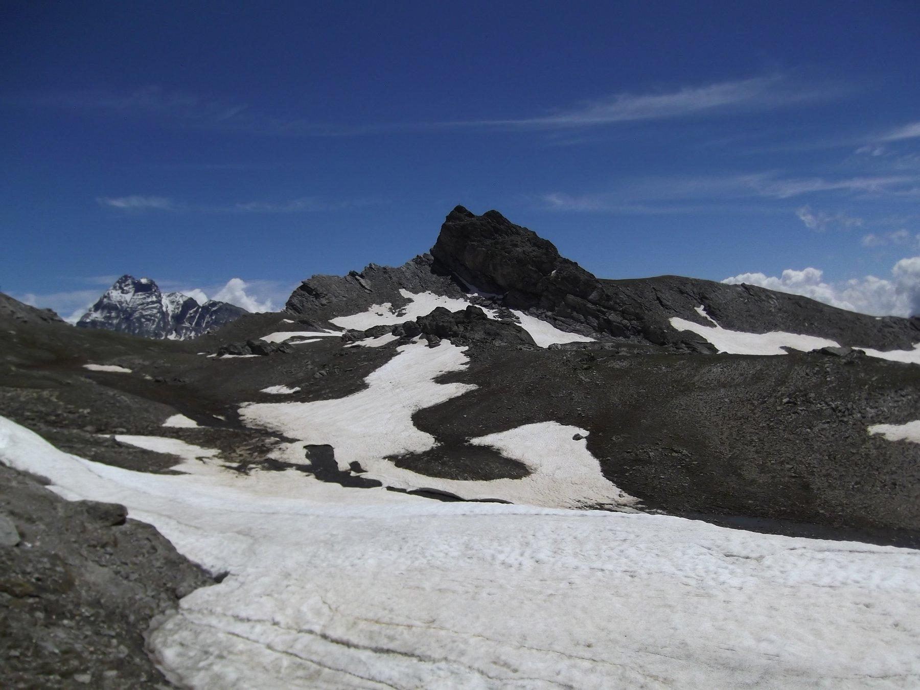 Rocca del Nigro dal colle.