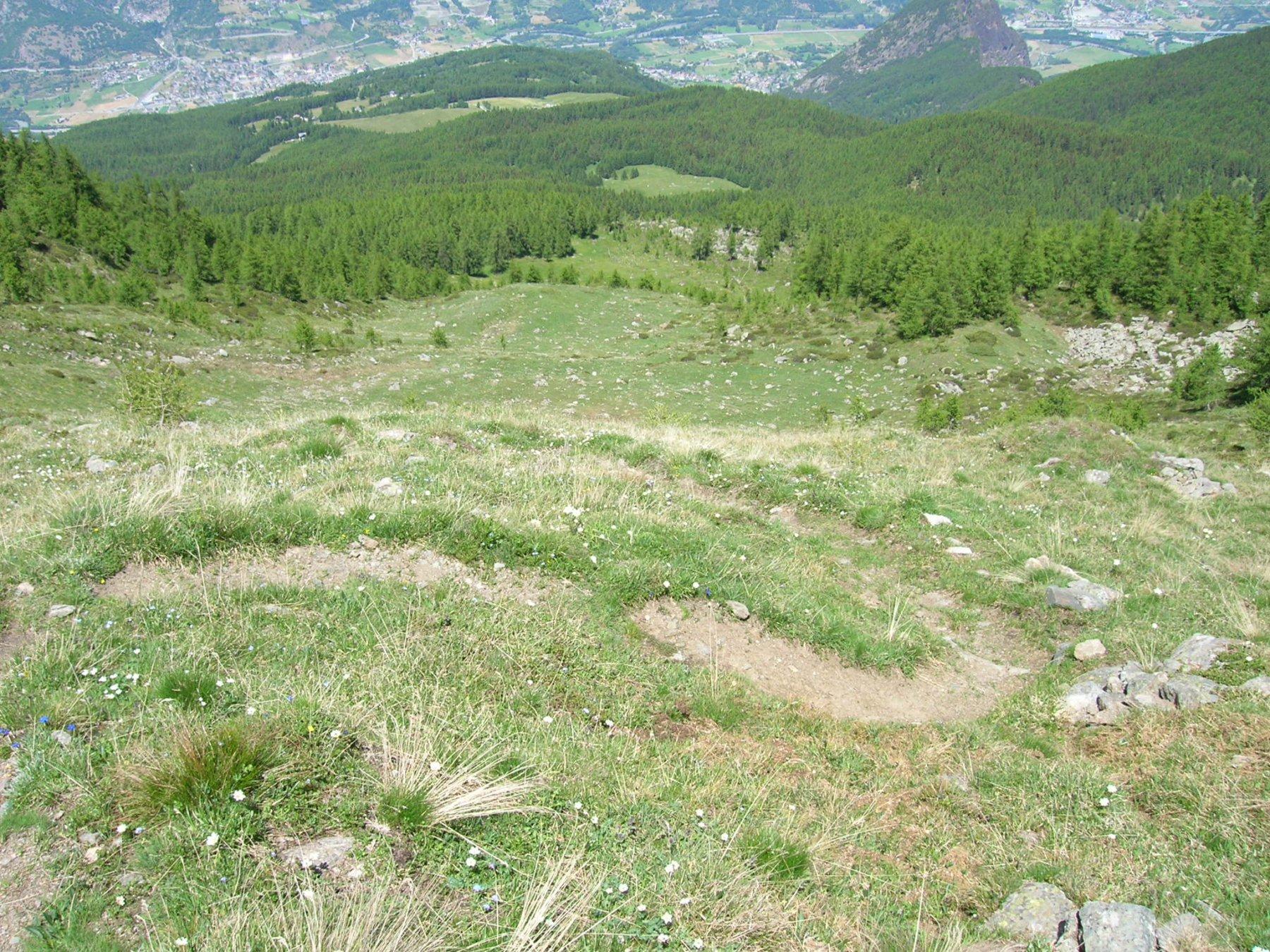 Corquet (Mont)da Grand Seissogne, anello per il Vallone di Saint Marcel 2016-06-27