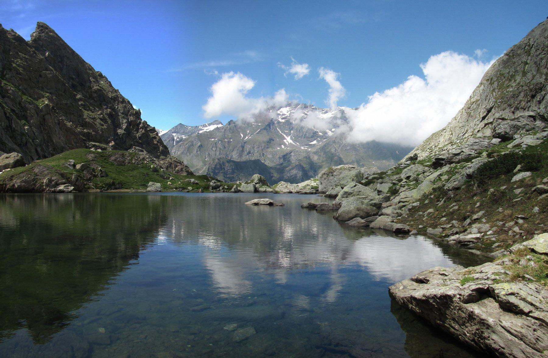 Dal lago inferiore del Turlo, verso la Lera
