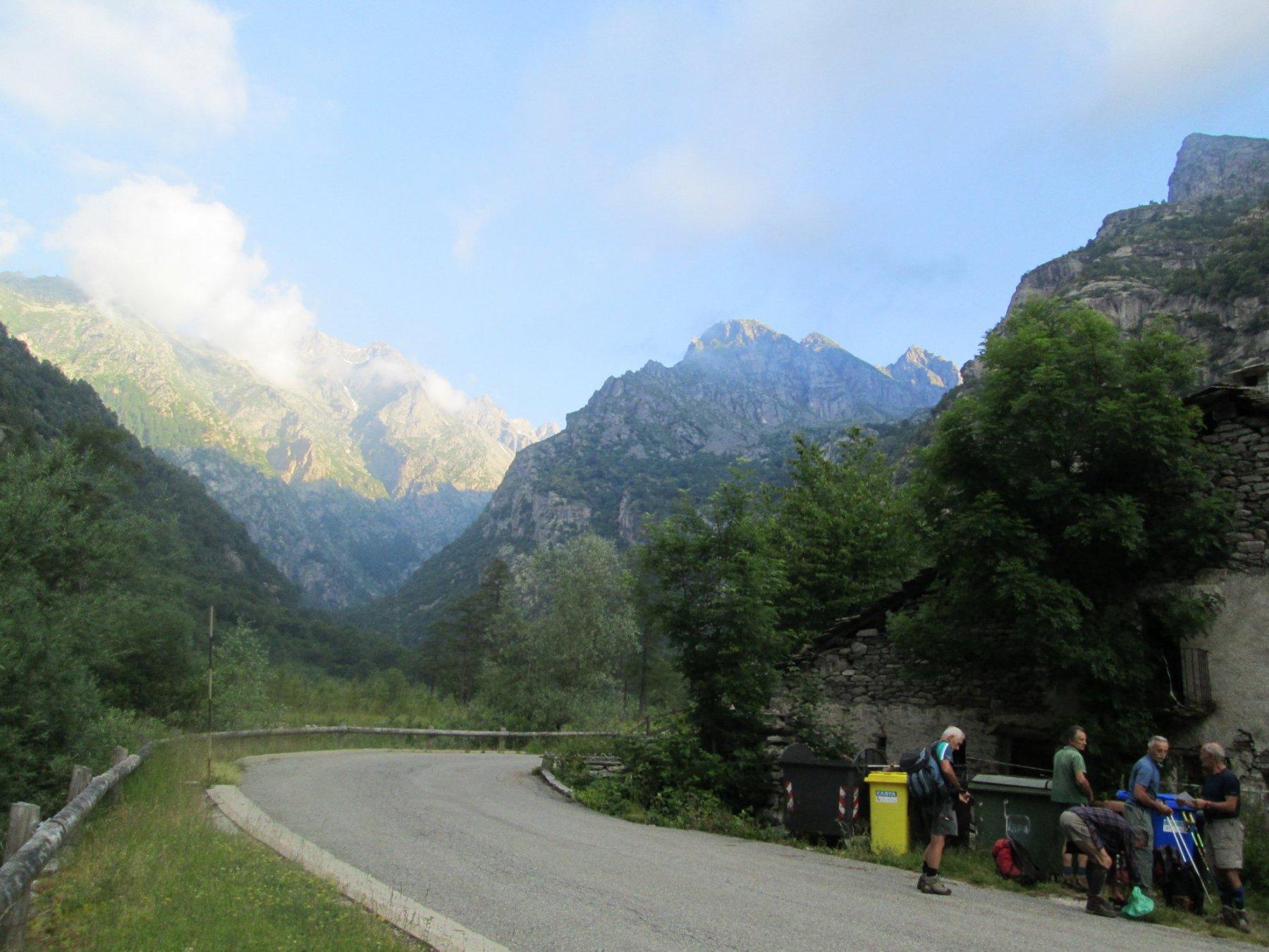 partenza da Valsoani