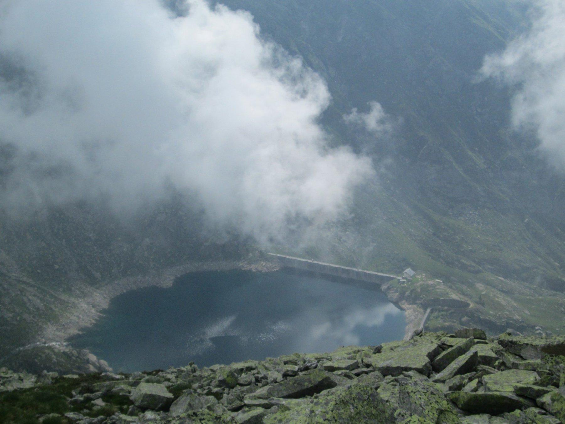 lago d'Eugio ripreso dalla punta