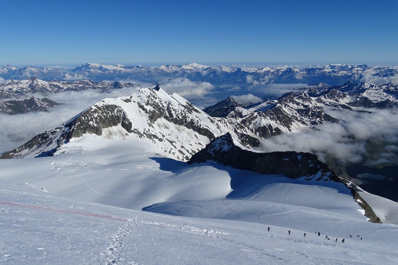 il ghiacciaio percorso