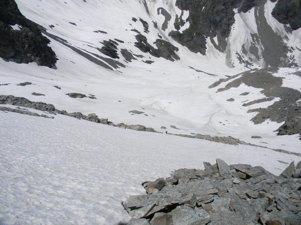 ghiacciaio della Losa da risalire