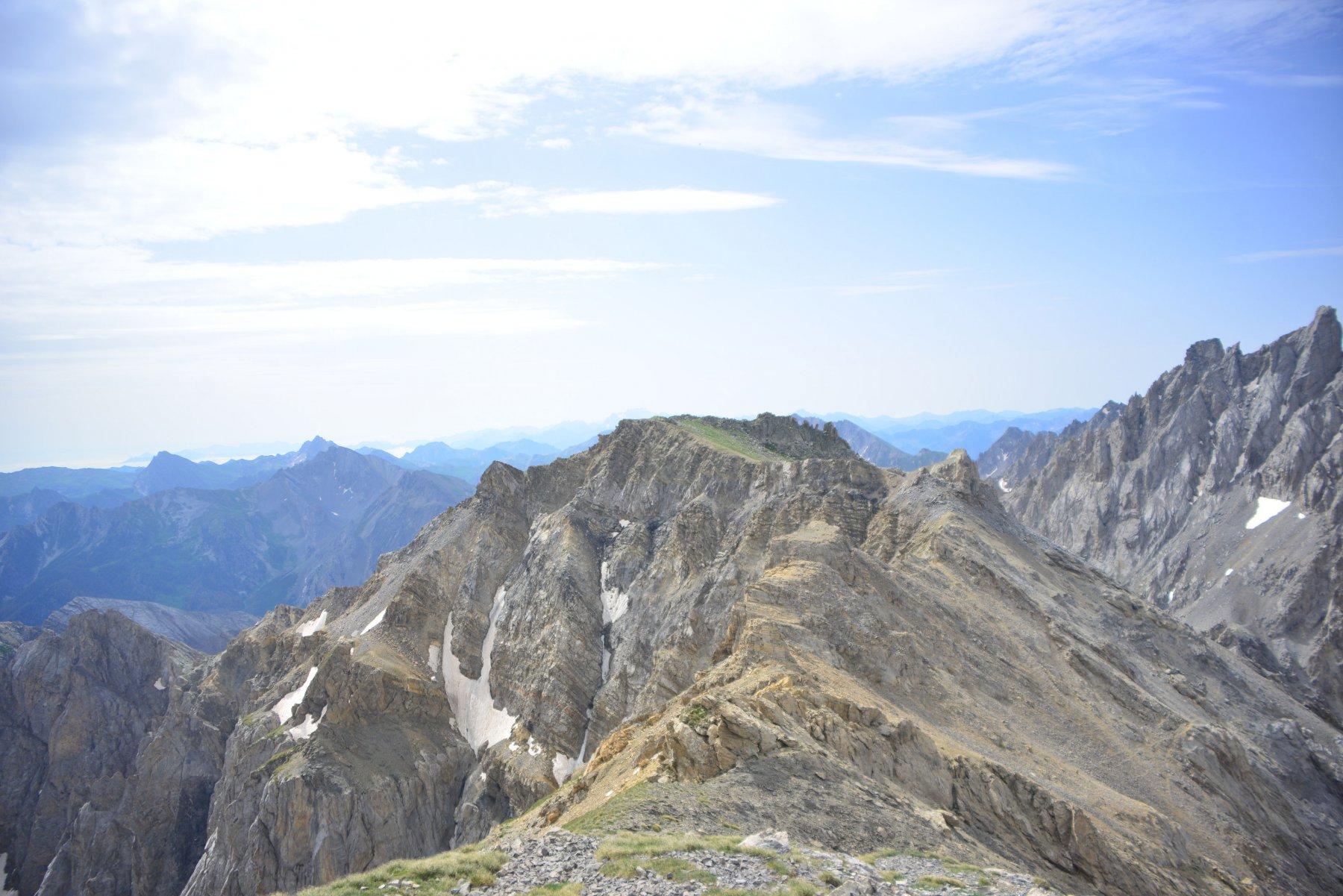 cresta vista dalla vetta