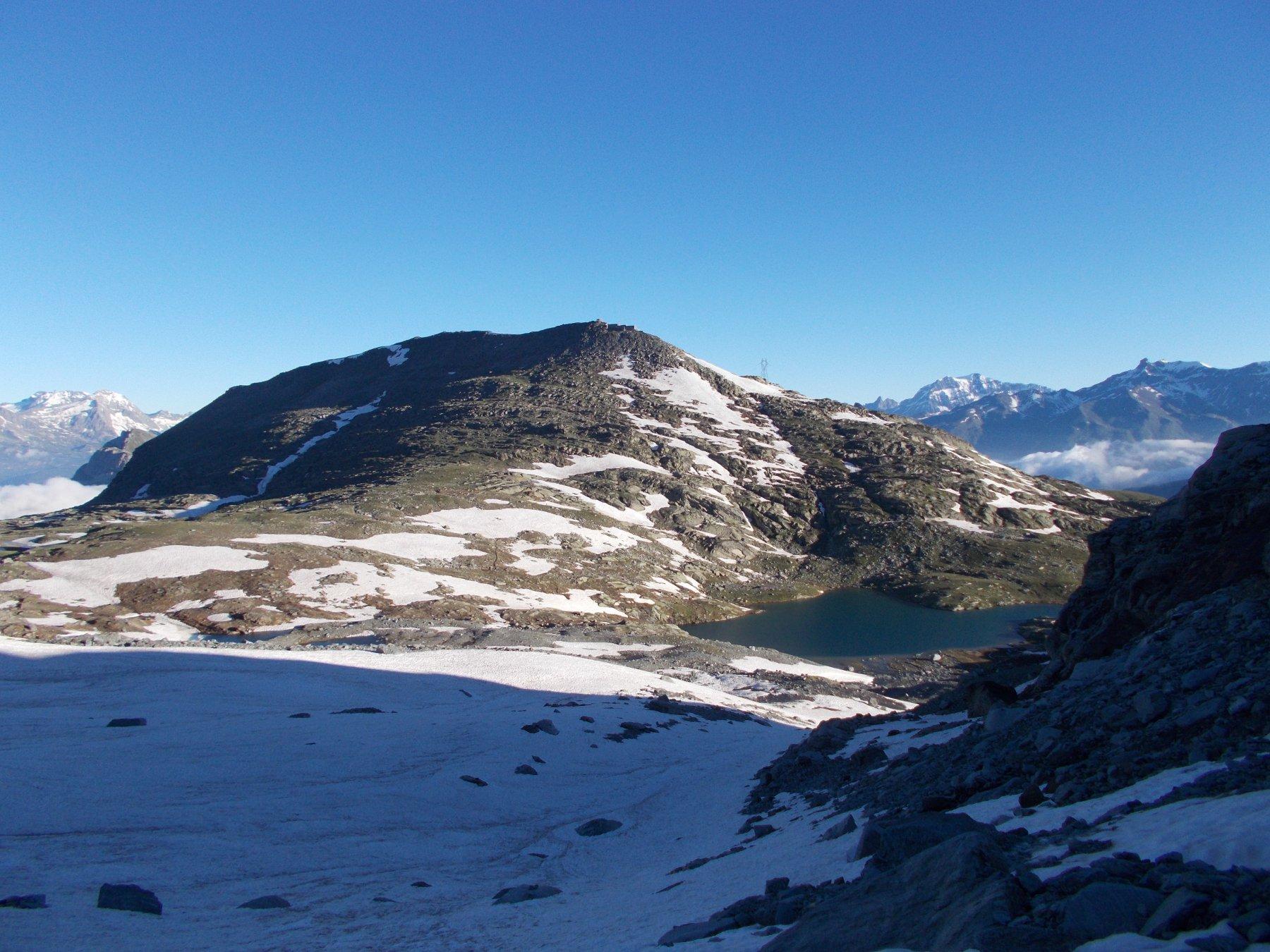 Malamot e Lac Blanc..dalla base del canale..ovest