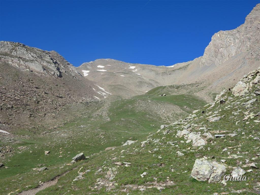 L'alto vallone verso il Pas du Reverdillon