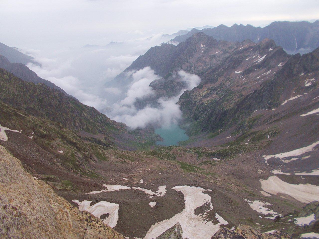 Lago Brocan dalla cima