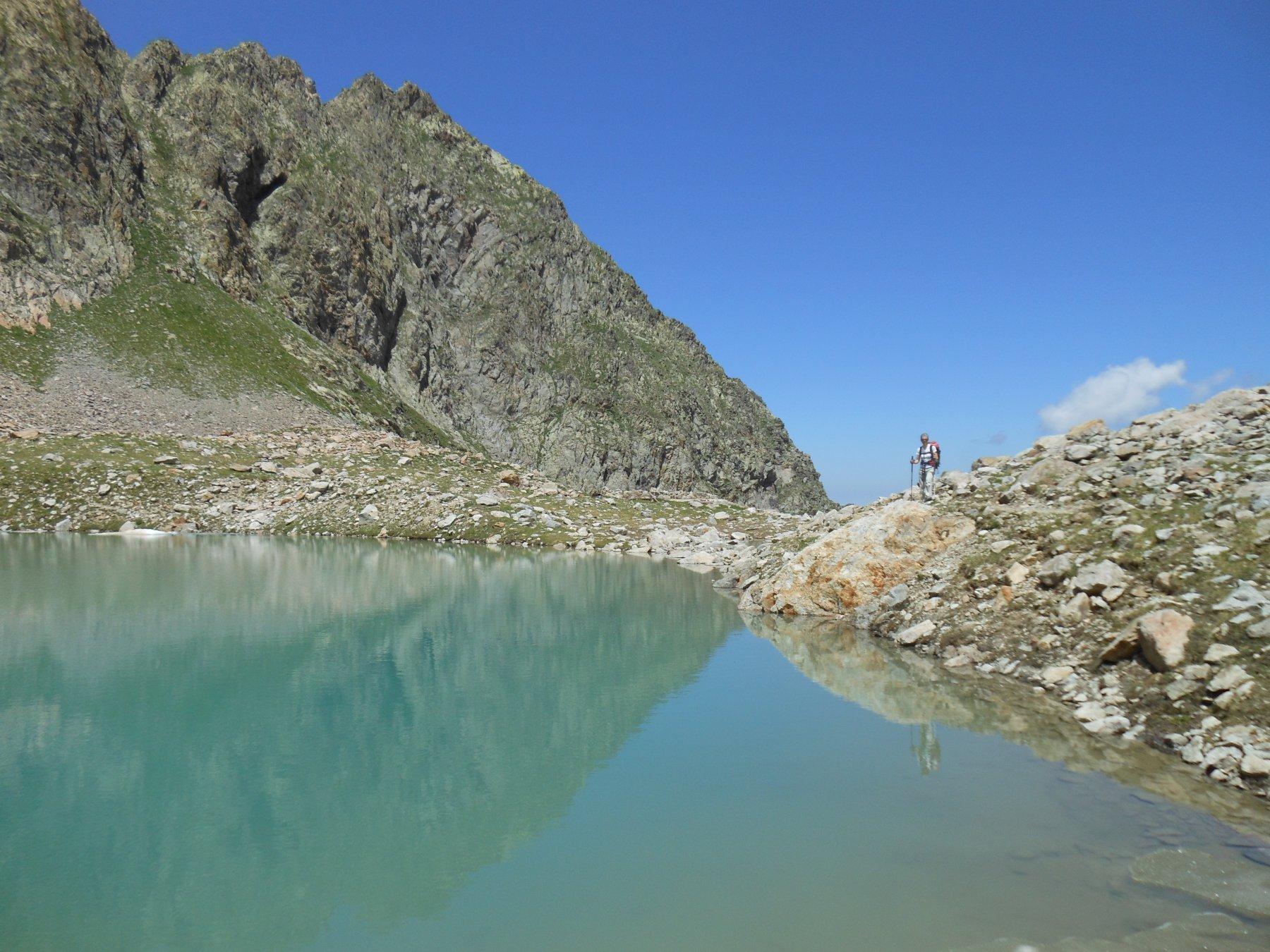Il lago Bianco del Gelas