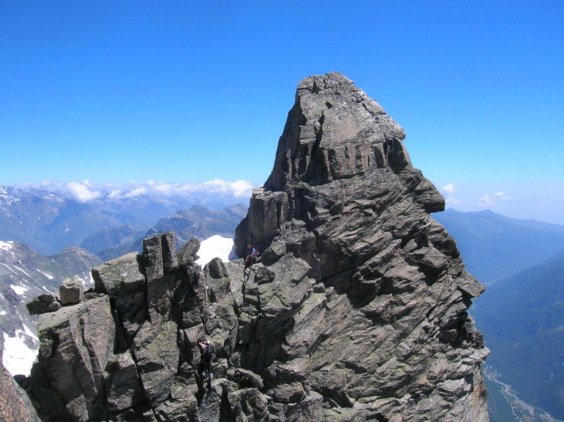 Martellot e Mulinet (Creste) da Forno Alpi Graie, traversata integrale 2016-07-10
