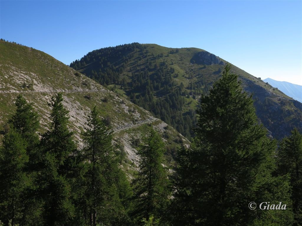 Il Monte Grai visto salendo al Pietravecchia