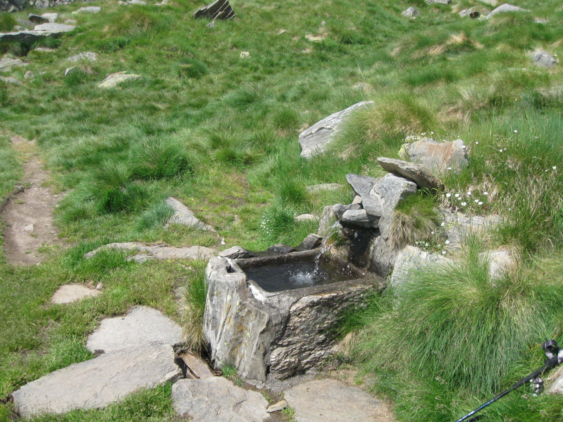 Fontana ai Casolari dell' Herbetet